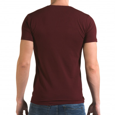 Мъжка червена тениска с Мики Маус il120216-14 3