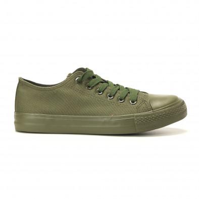 Мъжки кецове военно зелени it260117-33 2
