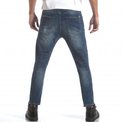 Мъжки дънки с ластик на кръста it160817-1 3