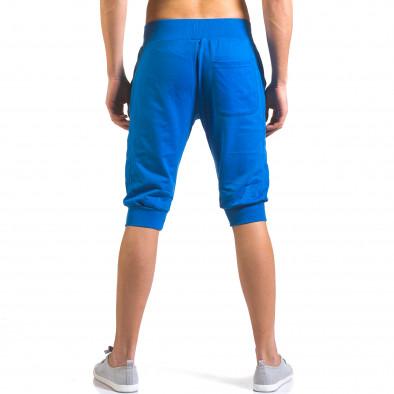 Мъжки сини къси потури класически модел it160316-16 3