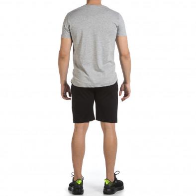 Мъжки комплект California в сиво и черно it040621-1 4
