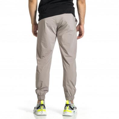 Мъжки шушляков панталон Jogger в сиво tr150521-28 3
