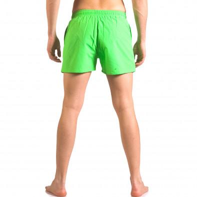 Зелени бански тип шорти с джобове ca050416-8 3