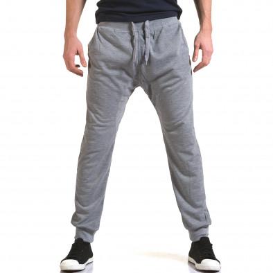 Мъжки сиви потури с изчистен дизайн Dress&GO 5