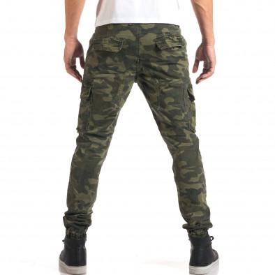 Мъжки камуфлажен панталон с джобове на крачолите it160916-2 3