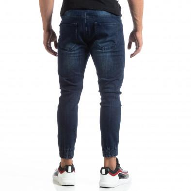 Мъжки сини джогър дънки Loose fit it170819-58 3