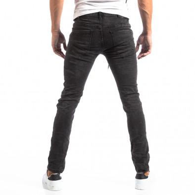 Рокерски сиви мъжки дънки Slim fit it250918-19 5