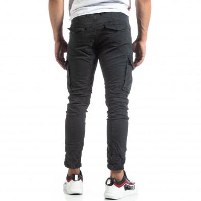 Сив мъжки карго панталон с прави крачоли it170819-13 4