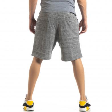 Мъжки шорти сив меланж it210319-62 3