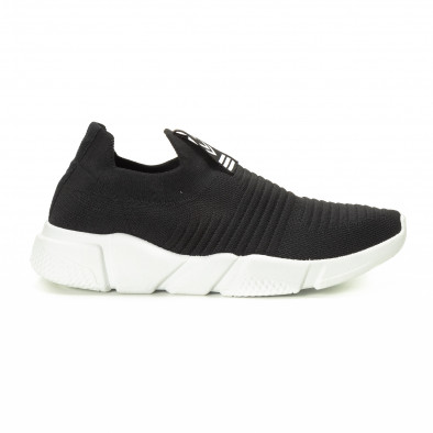 Черни мъжки Slip-on маратонки it221018-32 2