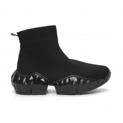 Гъвкави дамски маратонки тип чорап it260919-61 2