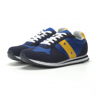 Мъжки класически маратонки в ярко синьо it250119-4 4