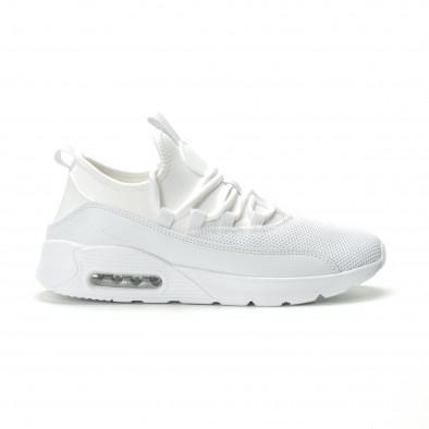 Леки мъжки Air маратонки комбинирани в бяло it250119-28 2