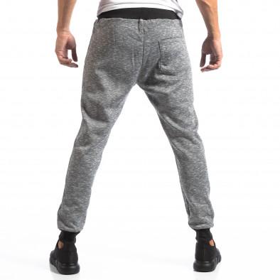 Мъжки Jogger в сив меланж it250918-35 4