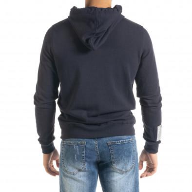 Лек мъжки суичър в тъмно синьо it080520-73 3