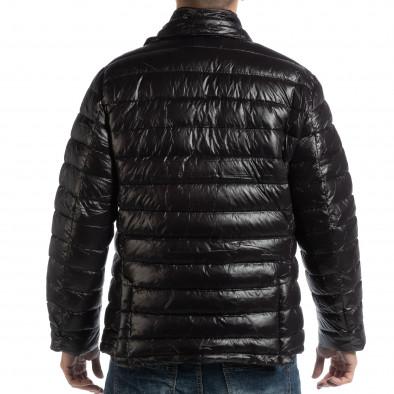 Мъжка черна пухенка тип блейзер it261018-130 5