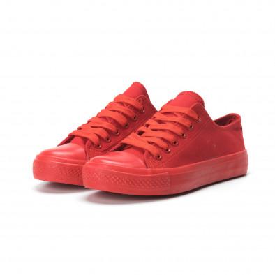 Червени дамски гуменки it250119-74 3