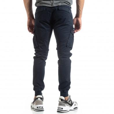 Мъжки син панталон Cargo Jogger  it170819-8 4