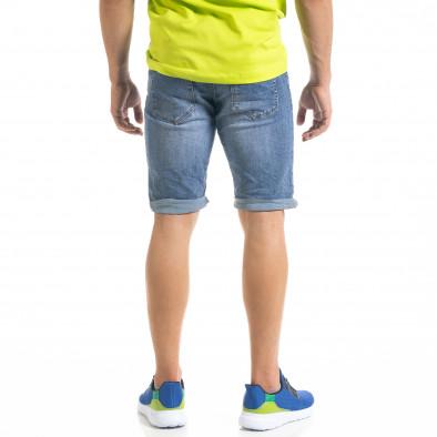 Basic мъжки сини къси дънки it050620-8 3