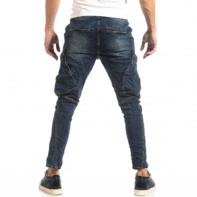 Мъжки сини дънки Cargo Carrot it261018-16 4