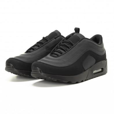 Футуристични Air мъжки маратонки в черно it221018-29 3
