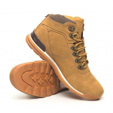 Мъжки обувки камел тип Hiker it251019-25 4