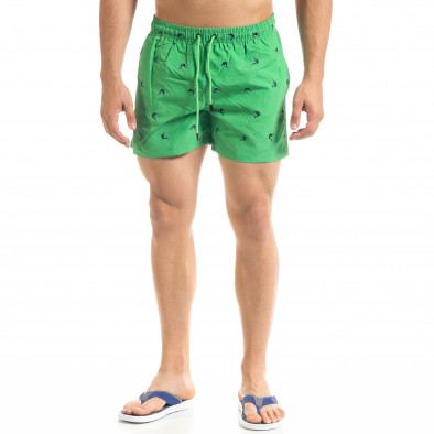 Зелен мъжки бански Swordfish мотив it050620-24 2