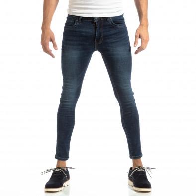 Skinny мъжки дънки в синьо it261018-13 2