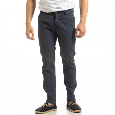 Мъжки CHINO панталон в синьо it090519-6 2