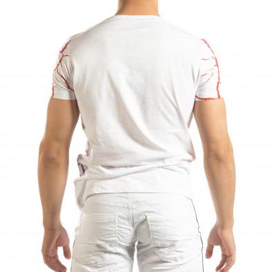 Мъжка тениска Supple в бяло  it150419-109 3