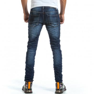 Мъжки намачкани сини дънки it070921-2 3