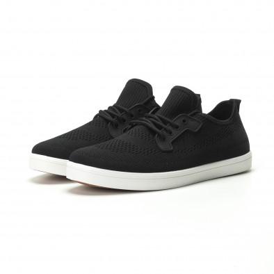 Мъжки леки спортни обувки в черно it250119-14 3