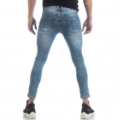 Мъжки Skinny Washed Jeans в синьо it040219-7 4