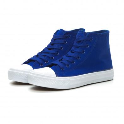 Basic дамски сини високи кецове  it150319-34 3