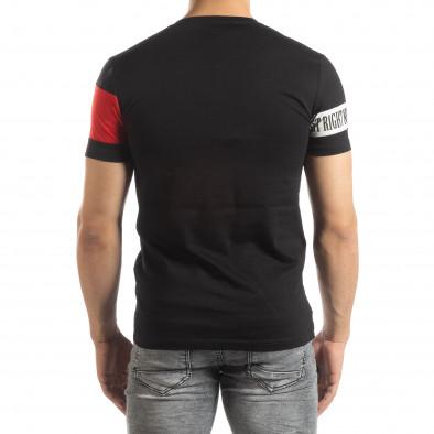 Черна мъжка тениска Be Creative it150419-65 3