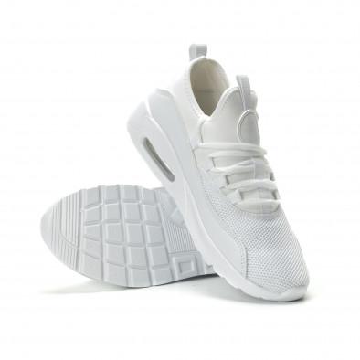 Леки мъжки Air маратонки комбинирани в бяло it250119-28 4