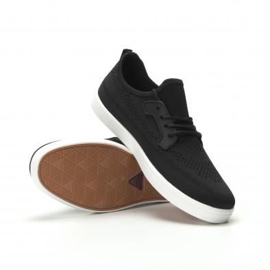 Мъжки леки спортни обувки в черно it250119-14 4