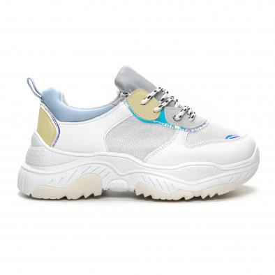 Дамски Chunky маратонки в нежни цветове it240419-46 2