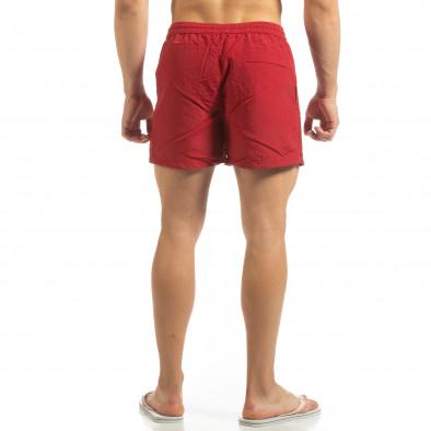 Мъжки червен бански със закопчаване it090519-77 3