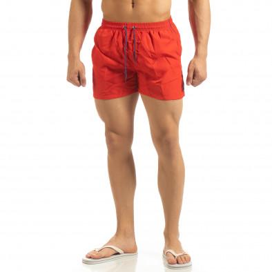 Мъжки червен бански син кант it090519-82 2