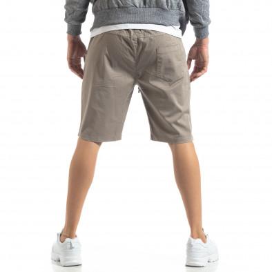 Basic мъжки къси панталони в сиво it210319-37 4