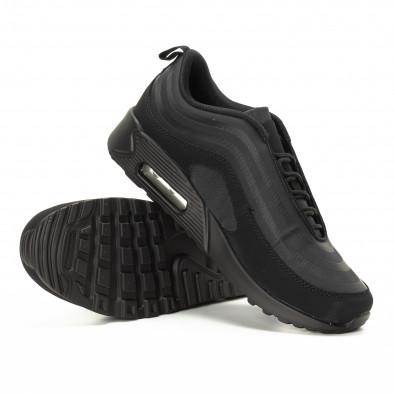 Футуристични Air мъжки маратонки в черно it221018-29 4