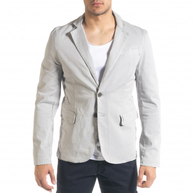 Спортно мъжко сако в сиво it240420-3 3
