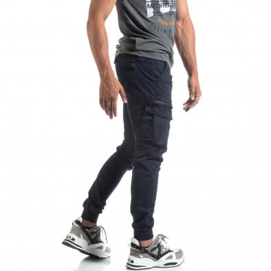 Мъжки син панталон Cargo Jogger  it170819-8 2