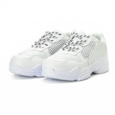 All white мъжки комбинирани маратонки it221018-39 3