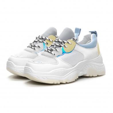 Дамски Chunky маратонки в нежни цветове it240419-46 3