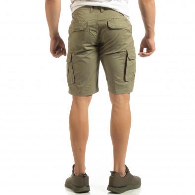 Зелени мъжки карго бермуди it090519-24 3