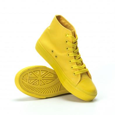 Дамски кецове в жълто it250119-79 4