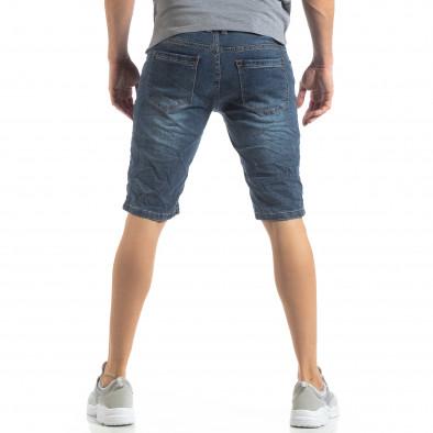 Мъжки къси дънки в синьо it210319-27 4