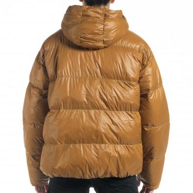 Мъжка пухенка с качулка и големи джобове it091219-15 5